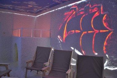 Соляная комната дизайн