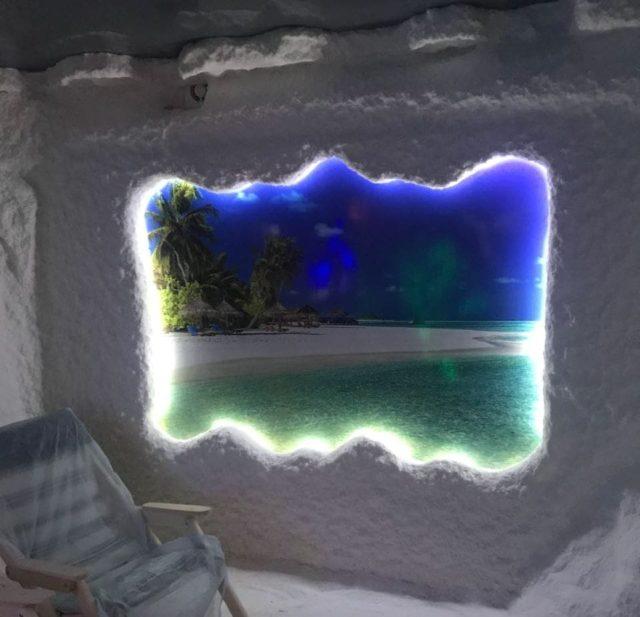 Соляная комната для санатория построить