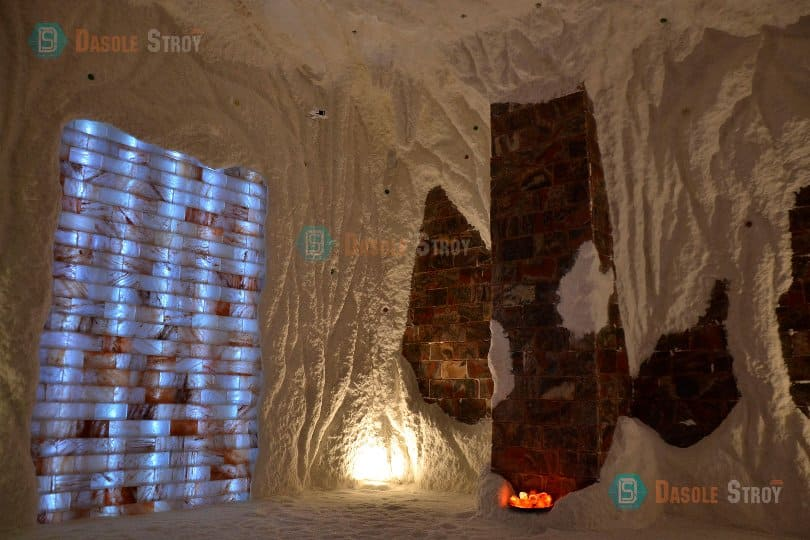 соляной грот-пещера для санатория под ключ