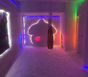 Фото соляной пещеры построена компанией дасолестрой