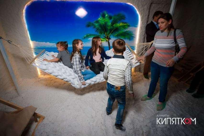 Соляная пещера Какаду в г. Алматы