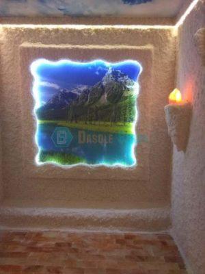 Соляная пещера/галокамера под ключ для клиник.