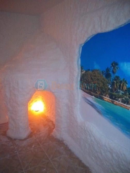 Соляная пещера монтаж в Костроме