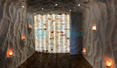 Монтаж соляной пещеры под ключ в Краснодаре для отеля