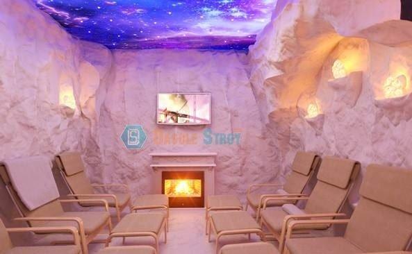 Дизайн соляной пещеры для медицинского центра