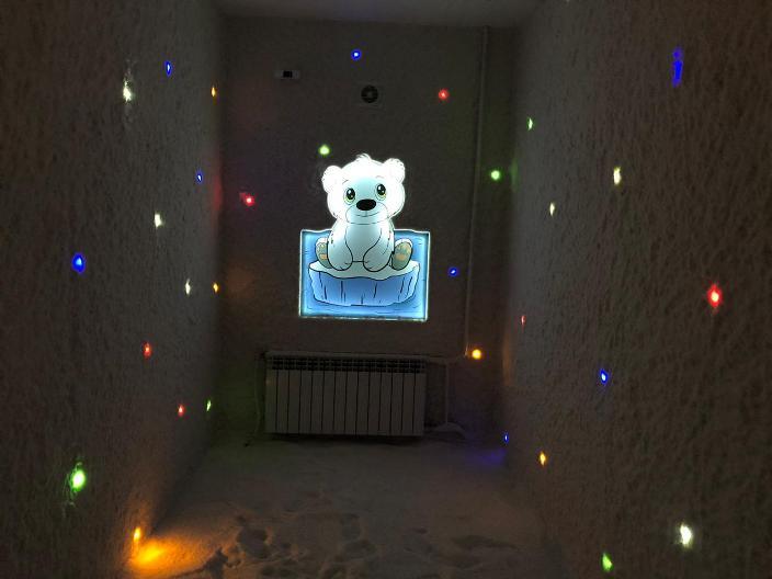 Строительство соляной комнаты под ключ для центра развития ребёнка в г. Камышлове.