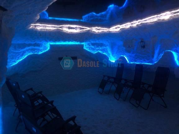 Соляная пещера PROsoli в городе Воронеже.