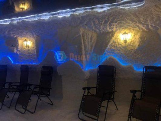 Соляной грот в городе Воронеже, строительство под ключ