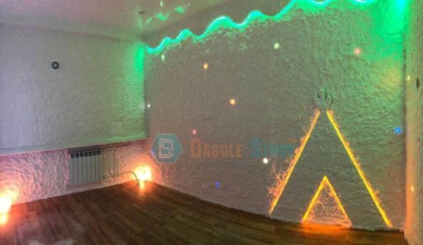 Монтаж солевой комнаты для коррекционного центра. г. Белоярский