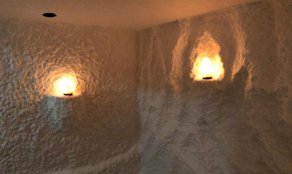 Соляная пещера под ключ для фитнес-центра