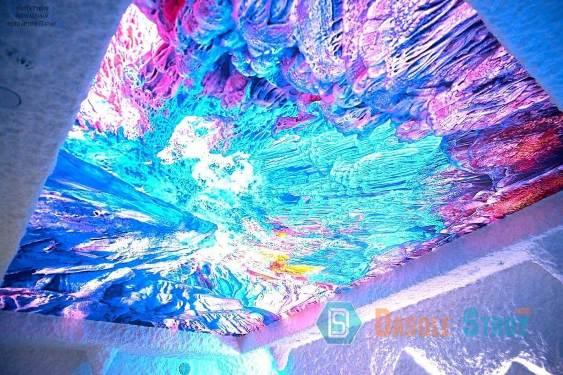 потолок в соляной пещере