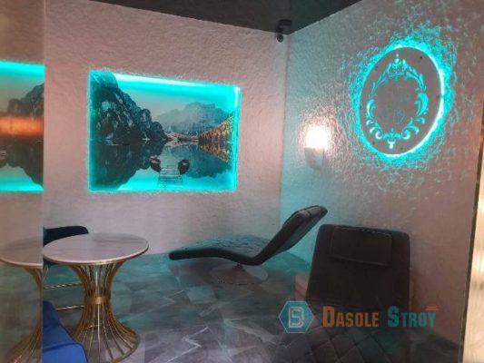 Солевая комната под ключ в Екатеринбурге. для компании Сима-Лэнд