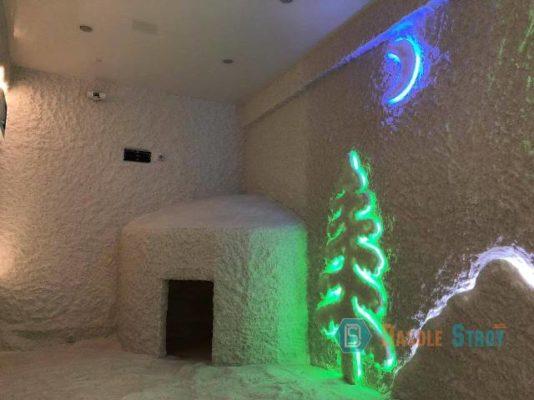 Солевая комната для бизнеса. Открытие в городе Оренбурге.
