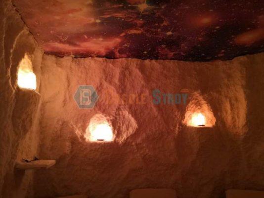 Соляная пещера для медицинского центра в Караганде