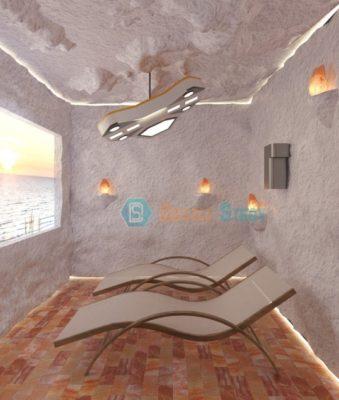 3D дизайн для соляной пещеры